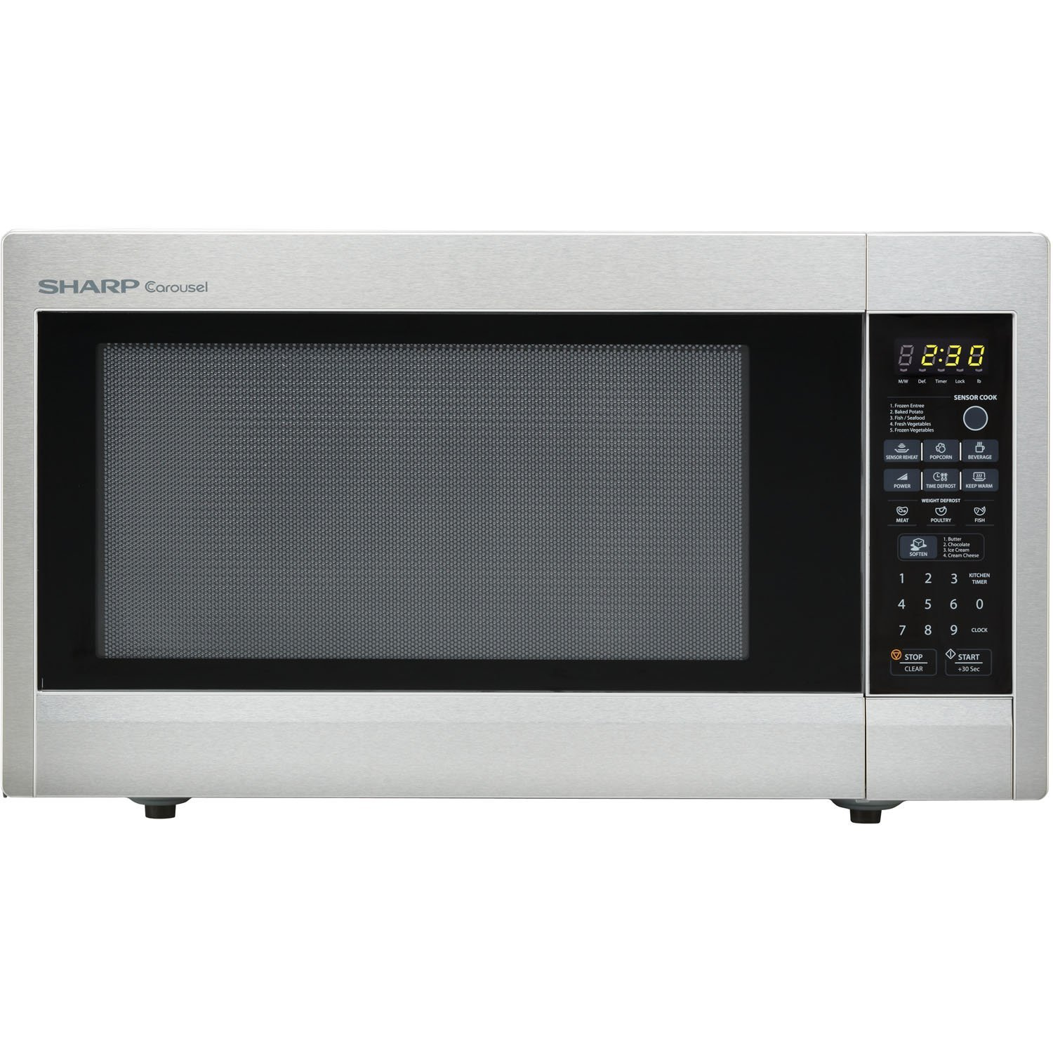 Sharp Countertop Microwave Dimensions : ... : SHARP, Model: R651ZS, Style: 2.2 cu. ft. Countertop Microwave Oven