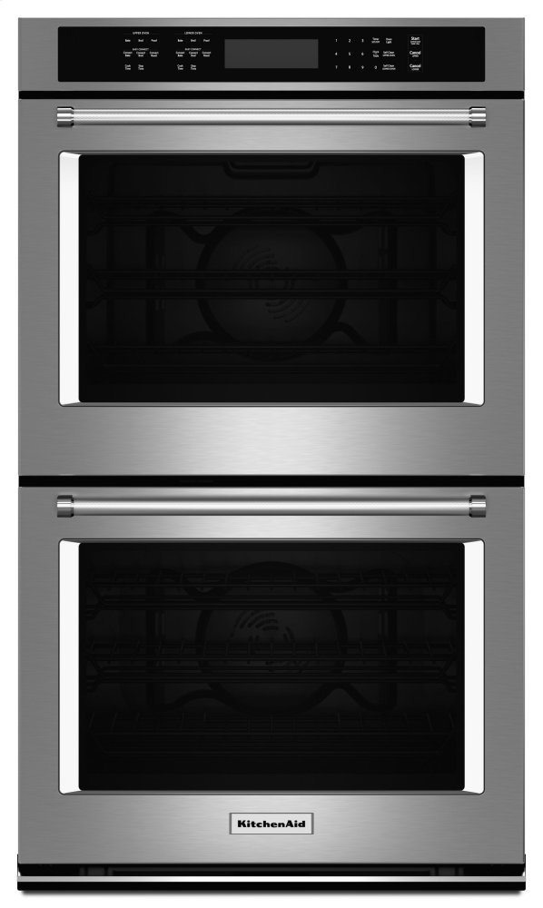 Kitchenaid Kode507ess 27 Inch Double Electric Wall Oven