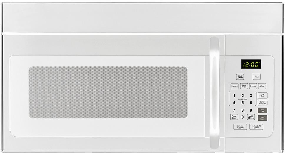 Haier Hmv1640ahw 1 6 Cu Ft Over The Range Microwave Oven