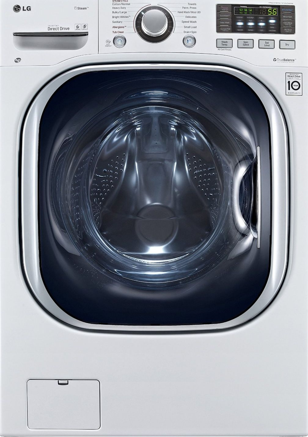 Lg Wm3997hwa 27 Inch Front Load Washer Dryer Combo White