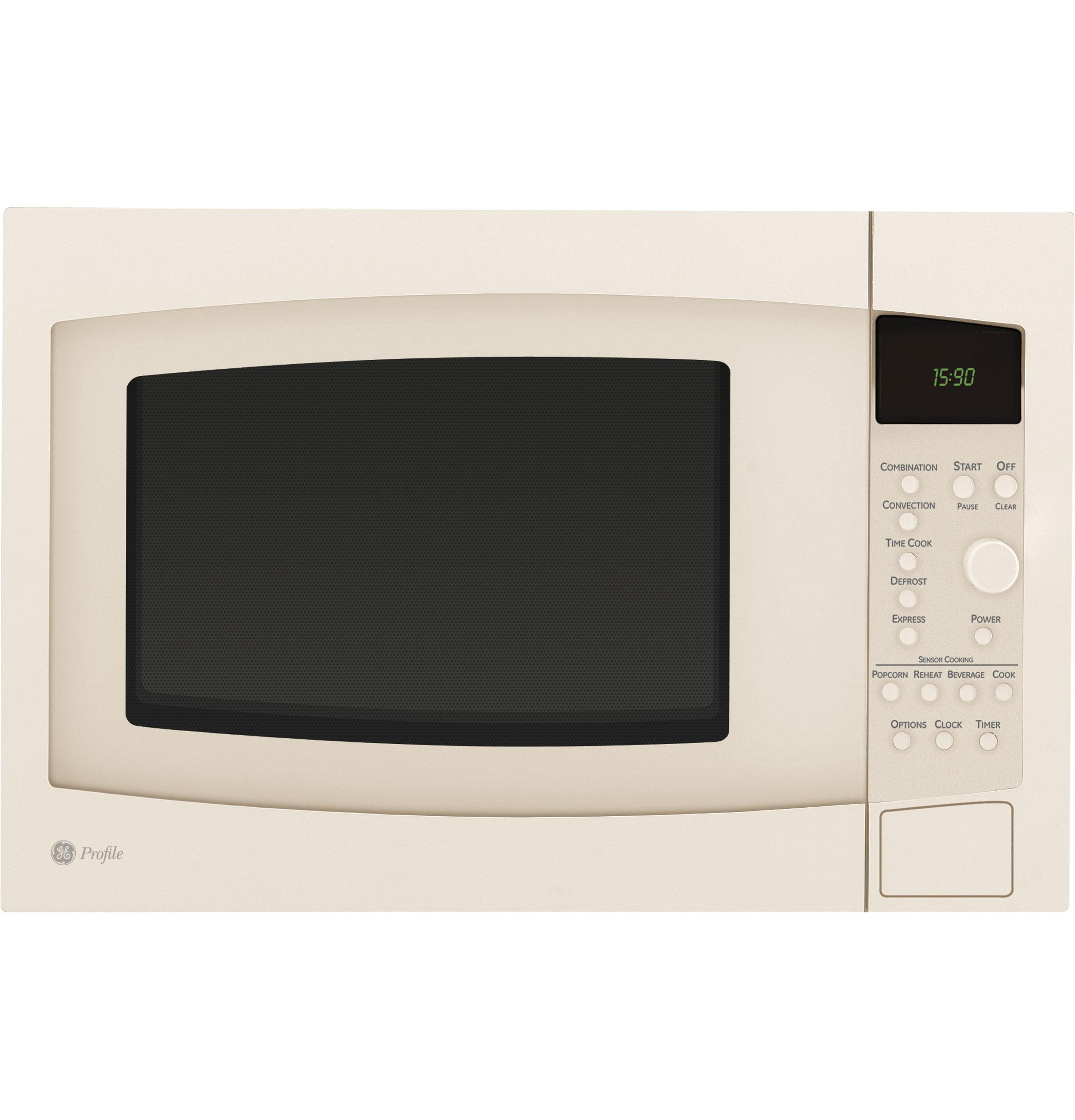 Countertop Microwave In Bisque Color : PEB1590 Ge peb1590 Profile Countertop Microwaves