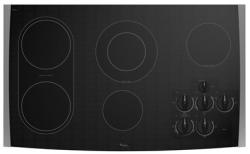 Brand: Whirlpool, Model: GJC3634RS, Color: Black on Stainless