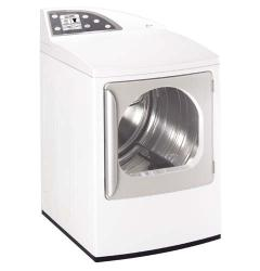 Brand: GE, Model: DPGT750GCWW, Color: White