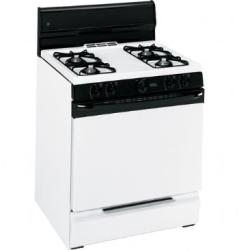 Brand: GE, Model: JGBS04BPMWH, Color: White/Pilot Ignition