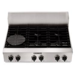 Brand: KITCHENAID, Model: , Style: 6 Burners
