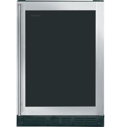 Brand: GE, Model: ZDBR240PBS, Color: Stainless Steel with Liquid-Crystal Privacy Glass