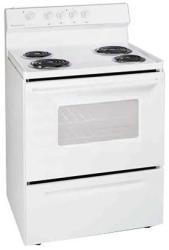 Brand: FRIGIDAIRE, Model: FEF316B, Color: White-on-White