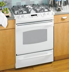 Brand: GE, Model: JGS968BEKBB, Color: True White