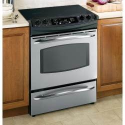 Brand: GE, Model: JS900, Color: Stainless Steel