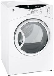 Brand: GE, Model: DCVH660EHGG, Color: White