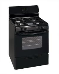 Brand: Frigidaire, Model: FGF337EW, Color: Black