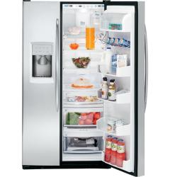 Brand: GE, Model: PSS29NSTSS, Style: 28.5 cu. ft. Side by Side Refrigerator