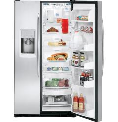 Brand: GE, Model: PSS27NSTSS, Style: 26.5 cu. ft. Side by Side Refrigerator