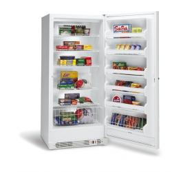 Brand: FRIGIDAIRE, Model: FFU2065FW, Style: 20.3 Cu. Ft. Upright Freezer