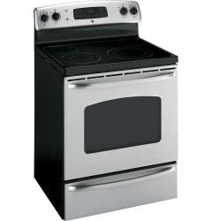 Brand: GE, Model: JBP70DMBB, Color: Stainless Steel