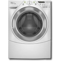 Brand: Whirlpool, Model: WFW9600TA, Color: White with Brushed Chrome Accents