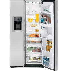 Brand: GE, Model: PSH23PSTSV, Style: 22.6 cu. ft. Side by Side Refrigerator
