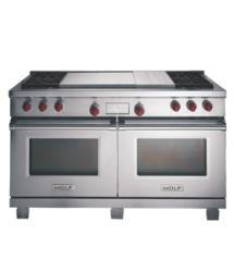 Brand: WOLF, Model: DF606DC, Color: Stainless Steel