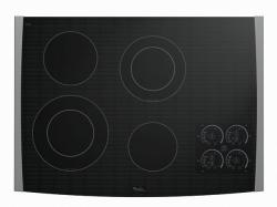 Brand: Whirlpool, Model: GJC3055RP, Color: Black on Stainless