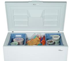 Brand: Whirlpool, Model: EH101FXRQ, Style: 10.0 cu. ft. Chest Freezer