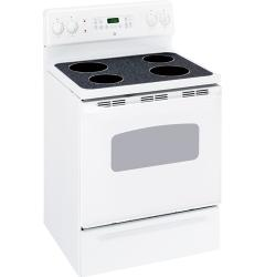 Brand: GE, Model: JBP64CKCC, Color: White on White
