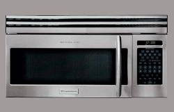 Brand: Frigidaire, Model: PLMV169DC, Color: Stainless Steel/Black