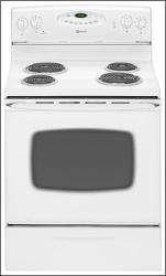 Brand: MAYTAG, Model: MER5555QAW, Color: White