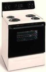 Brand: Frigidaire, Model: FEF352FB, Color: Bisque with Black Door