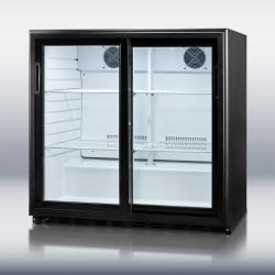 Brand: SUMMIT, Model: SCR700, Color: Black Cabinet