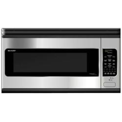 Brand: SHARP, Model: R2130JS, Style: 2.1 Cu. Ft. Over the Range Microwave Oven