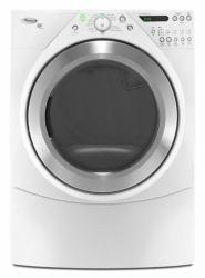 Brand: Whirlpool, Model: , Color: White with Brushed Chrome Accents