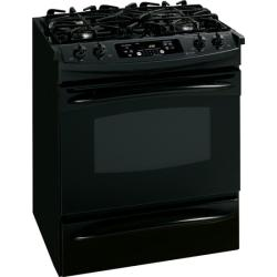Brand: GE, Model: JGS905BEKBB, Color: Black on Black
