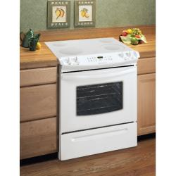 Brand: Frigidaire, Model: FES366ES, Color: White on White