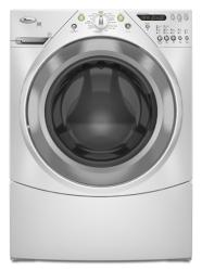 Brand: Whirlpool, Model: WFW9400ST, Color: White with Brushed Chrome Accents