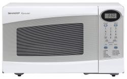 Brand: SHARP, Model: R230KW, Color: White