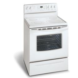 Brand: FRIGIDAIRE, Model: GLEF384GB, Color: White on White