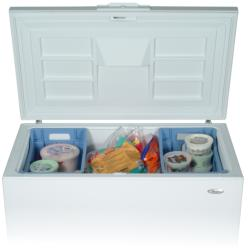 Brand: Whirlpool, Model: EH151FXRQ, Style: 14.8 cu. ft. Chest Freezer