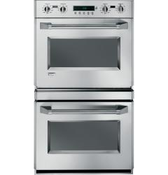 Brand: GE, Model: ZET2RMSS, Style: Electronic Dial and Professional Handles