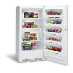 Brand: FRIGIDAIRE, Model: FFU1724DW, Style: 17.1 cu. ft. Upright Freezer