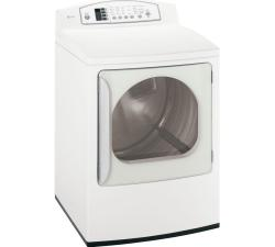 Brand: GE, Model: DPGT650EH, Color: White on White
