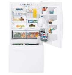 Brand: GE, Model: PDS22MFWBB, Color: White/Reversible Door