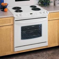 Brand: FRIGIDAIRE, Model: FED355ES, Color: White on White