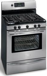 Brand: Frigidaire, Model: PLGFZ397GC, Color: Stainless Steel/Black