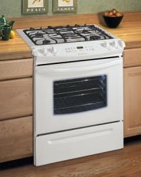 Brand: FRIGIDAIRE, Model: FGS366EB, Color: White-on-White