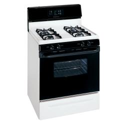 Brand: FRIGIDAIRE, Model: , Color: White with Black Accents