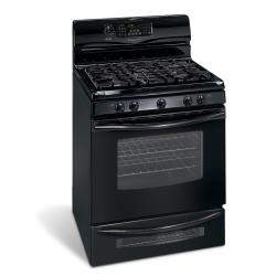 Brand: Frigidaire, Model: GLGFM98GPB, Color: Pearl Black