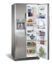 Brand: Frigidaire, Model: PHS69EJSS, Style: 26.0 cu. ft. Side by Side Refrigerator