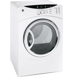 Brand: General Electric, Model: DCVH680GJMR, Color: White on White