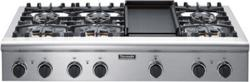 Brand: THERMADOR, Model: PCG48, Style: 6 Burners and Electric Griddle