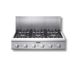 Brand: Thermador, Model: PCG364ED, Style: 6 Burners